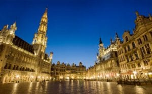 Grand Place from Brussels, Belgium - cityscape